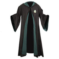 Harry Potter Authentic Replica Adult Slytherin Robe  