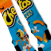 Cheetos Puffs Fast Shipping!! Nike Elite Socks Customized CHEETOS