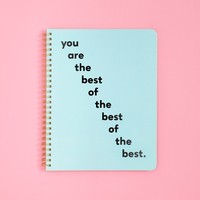 Rough Draft Mini Notebook- You Are the Best