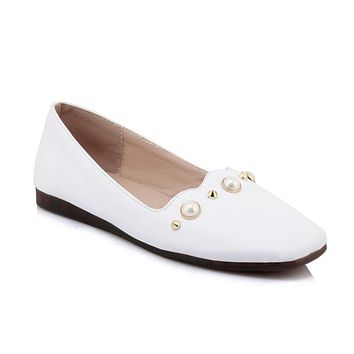 Women's Loafers Shallow-mouth Flats Shoes