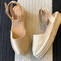 SALE! Siesta Key Espadrilles in Taupe