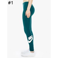 NIKE Tide brand women's sports and fitness casual leggings #1