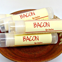 Bacon Lip Balm, Gag Gift, Gift for Dad, Gift for Boyfriend, Novelty Gift, Bacon Flavored Chapstick, Bacon Gift Idea