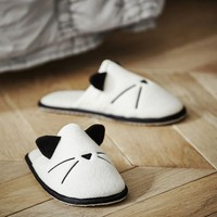 Emily & Meritt Knit Cat Slipper