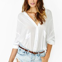 Piper Blouse - Ivory