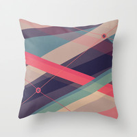 Shockwave Throw Pillow by Tracie Andrews