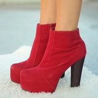 Red Badge of Courage Booties
