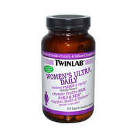 Twinlab Women's Ultra Daily Multi-Vitamin and Mineral Supplement - 120 Capsules