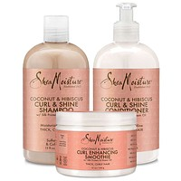 Includes Curl & Shine Shampoo Curl & Shine CONDITIONER Curl Enhancing Smoothie