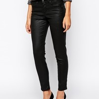 Sisley Jeans in Coated Cotton