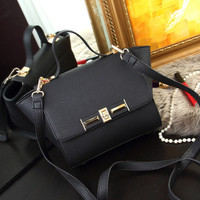 Brand Like Fashion Leather Shoulder Candy Multi Color Women Casual Messenger Bags Chic Handbag  _ 8336