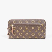 "Louis Vuitton Brown Monogram Coated Canvas ""Organizer Insolite"" Wallet"