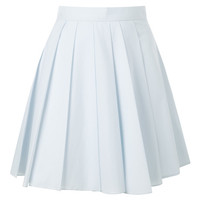Short Pleated Skirt by A.W.A.K.E for Preorder on Moda Operandi
