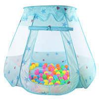 New Indoor Polyester Play House Baby Ocean Ball Pit Pool Kids Princess Hexagonal Tent