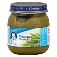Gerber 2nd Foods - Green Beans 4 oz