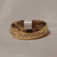 """Lord Of The Rings """"The One Ring"""" Gold"""