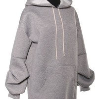 Hoodie Sweat Shirt Mini Dress/Tunic
