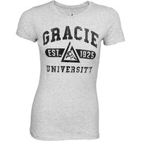 Gracie Jiu-Jitsu University Women's Shirt - MMAWarehouse.com - MMA Shorts, MMA Gear, MMA Gloves, MMA Clothing