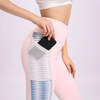 Women's High Waist Activewear Yoga Pants with Pockets