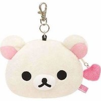 San-x Korilakkuma ID Card holder with coin case Memory Card Holder Cute Gift Fan