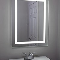 Lighted and Illuminated Professional Makeup Mirror for Bathrooms or Vanity - Back lit LED 24 x 32