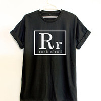 rock n'roll - T shirt sport - Quote T shirt - Slogan T shirt - Made to order