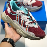 Adidas Ozweego Pride Rainbow cheap Men's and women's adidas shoes