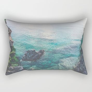 Freshwater Rectangular Pillow by Gallery One