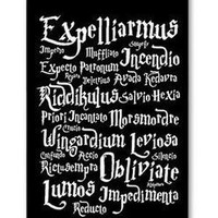 Harry Potter Magic Spell DIY Custom Printed Mobile Phone Case Cover for Iphone 4 4s 5 5s 5c 6 6 plus