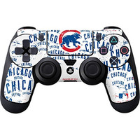 MLB Chicago Cubs PS4 DualShock4 Controller Skin - Chicago Cubs - White Cap Logo Blast Vinyl Decal Skin For Your PS4 DualShock4 Controller