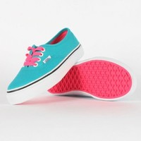 Vans - Youth K Authentic Shoes In Pop Lace/Blue Bird, Size: 10.5 M US Little Kid, Color: Pop Lace/Blue Bird