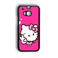 Hello Kitty Girl HTC One M8 Case
