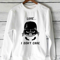 Darth Vader vs Grumpy Cat sweater unisex adults