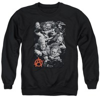 Sons Of Anarchy - Group Fight Adult Crewneck Sweatshirt