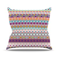 "Nika Martinez ""Ayasha"" Throw Pillow"