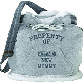 "Lillian Rose Diaper Bag, Property of Mommy, 15"" x 15"" x 6.75"""