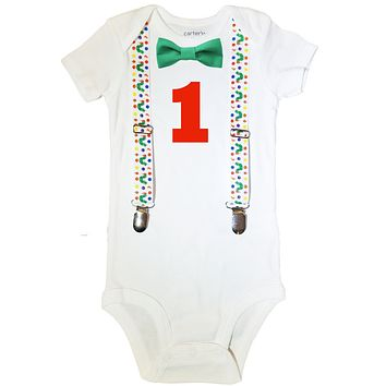 Hungry Caterpillar First Birthday Outfit Baby Boy