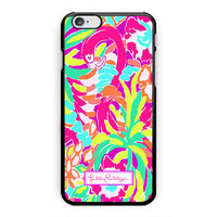 New Lilly Pulitzer Cute Lulu Hard Plastic Case For iPhone 6s 6s plus