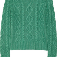 Band of Outsiders Cable-knit sweater – 60% at THE OUTNET.COM