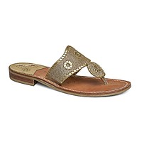 Sparkle Navajo Sandal in Gold by Jack Rogers