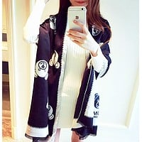 Moschino Multicolor Fashion Women Winter Scarf  Blanket Scarf
