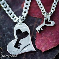 Key to my Heart Necklaces