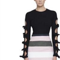 multi sleeve sweater top by johnny - Google Search