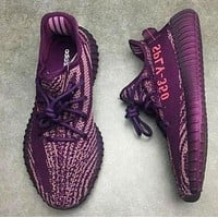 Yeezy 550 Boost 350 V2 Adidas men and women tide personality casual sports shoes F