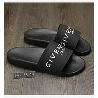 Tagre GIVENCHY PARIS andals Comfortable Loose Slippers(3 color) black