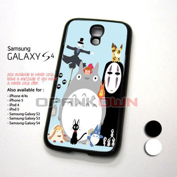 Studio Ghibli Characters Design for Samsung Galaxy S4 Case