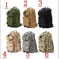 Unisex Outdoor Military Tactical Backpack Camping Hiking Bag Rucksacks