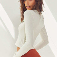 Out From Under Taylor Cozy Mock Neck Top | Urban Outfitters