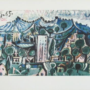Landscape Collectable Print by Pablo Picasso at Art.com