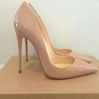 Women Pumps Heeled Shoes Pointed Toe Sexy High Heel Shoes Stiletto High Heels Ladies